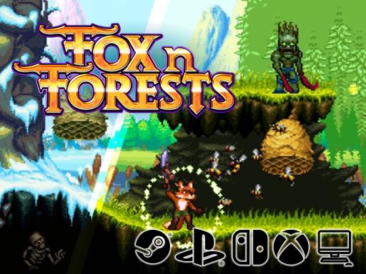 Promo Screenshot FOX n FORESTS Bonus Level Entertainment/EuroVideo Medien
